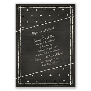 I love this on invitations! By: Invitations by Dawn