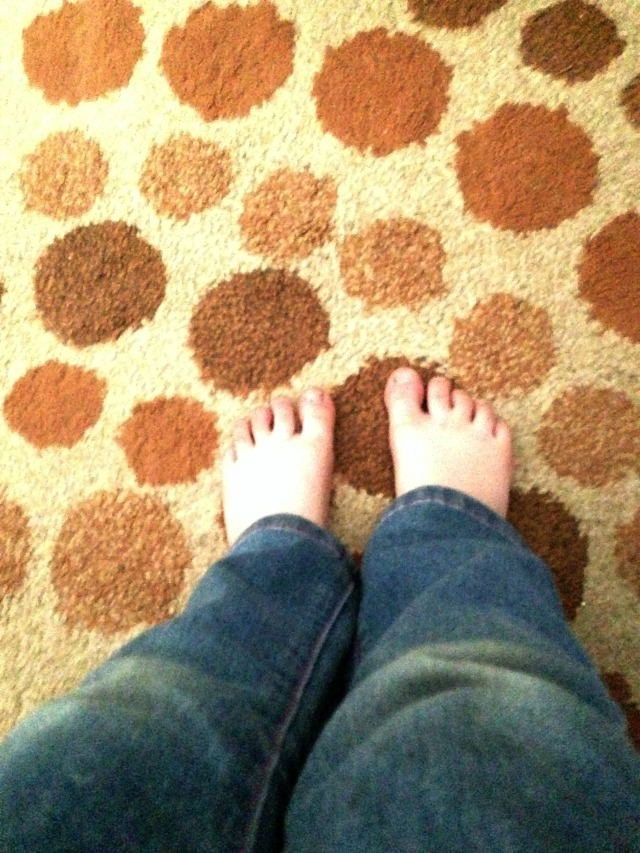 The typical feet slefie